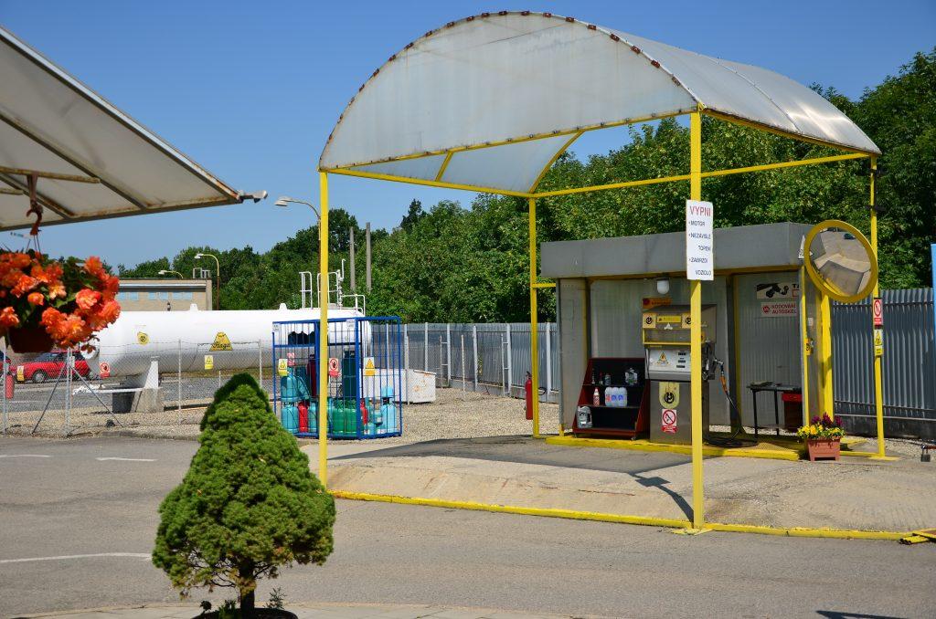 Čerpací stanice LPG